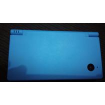 Dsi Azul Com Cartão De Jogos R 4 , Caneta E Carregador