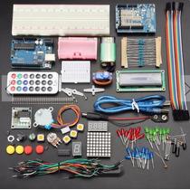 Arduino Uno Kit Intermedio. Pantalla Lcd, Servo, Stepper!