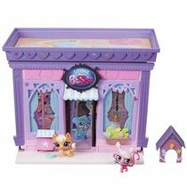 Brinquedo Novo Littlest Pet Shop Salão De Pets Hasbro A7322