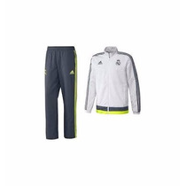 Conjunto Pans Adidas Real Madrid 100% Original 2016 De Adult