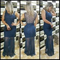 Vestido Longo De Renda Paula Fernandes