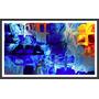 Quadro Decorativo Abstrato Arte Moderna 1 M X 60 Cm