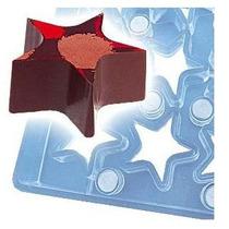 Molde Magético Para Chocolate Transfer 18 Cavidades