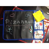 Pizarra De Tela Enrollable Para Tiza - Pizarroll