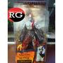 God Of War - Kratos - With Flaming Blades Of Athena
