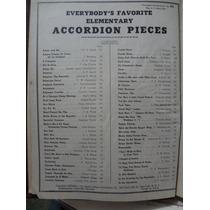 Partitura 120 Musicas Acordeon Favoritas Acordeon Em Inglês