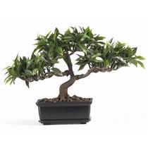 Bonsai Artificial Fícus/envío Gratis/decora/mesa/sala/desc