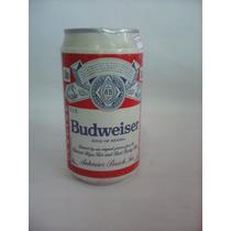 Antiga Lata De Cerveja Budweiser - Cheia