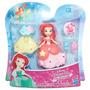 Boneca Princesas Disney - Mini Ariel E Vestido - Hasbro
