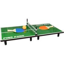 Juego Ping Pong De Sobremesa Portatil