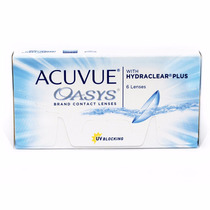 Lentes De Contato Acuvue Oasys Com Hydraclear Plus - 3 Pares