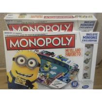 Monopoly Minions / Mi Villano Favorito Hasbro ® - Original