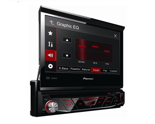 Autoestéreo Pioneer 7´´ Tactil Dvd,mp3.cd, Dvd, Divx Touch - $ 6,990.00 en Mercado Libre