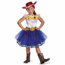 Disfraz De Lujo Jessie La Vaquerita Tutu Toy Story