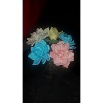 Porcelana Rosas Flores Souvenir 15 Cumpleaños Casamiento