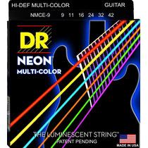 Jogo De Cordas 09 042 P/ Guitarra Dr Neon Nmce9 Multi-color