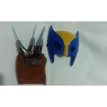 Kit Wolverine ( Máscara + Luva )