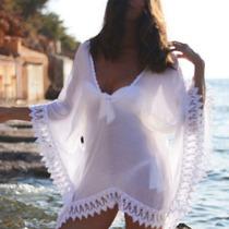 Vestido De Playa De Gasa