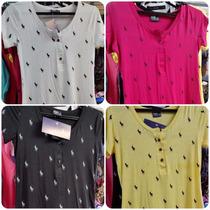 Blusinha Polo Babylook Camiseta Feminina Ralph Lauren Barato