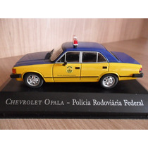 Miniatura Opala Diplomata Viatura Polícia Federal 1/43 Br