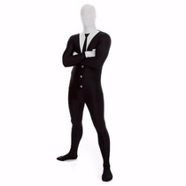 Disfraz Slender Man Morphsuit Fancy Dress Costume