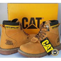 Bota Caterpillar Original Mostarda Modelo Second Shift Boot
