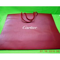 Cartier Shopping Bag 54 X 44 X 14 Cm. Buena
