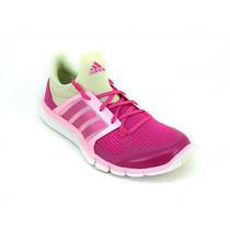 Zapatillas Training Adipure 360.3 Rosa Verde Mujer