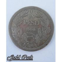 Urgente Antigua Moneda Chilena 1933
