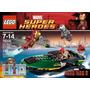 Juguete Lego 76006 Iron Man Batalla En Puerto Marino