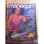 Revista Manequim Janeiro 1982 - Moda Moldes Costura