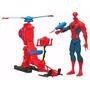 Helicoptero Spiderman Hombre Araña Hasbro La Horqueta