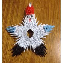 Origami Modular Estrela De Noel
