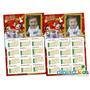 250 Calendários 10x15 Com Imã Personalizado Natal Fim De Ano