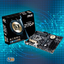 Mother Asus Z170-p Intel Lga 1151 Ddr4