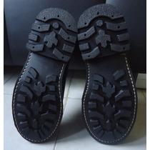 Botínes Negros Botas Negras Nuevas Originales Cocidas