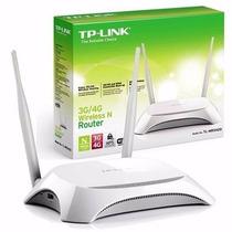 Router Tp-link Tl-mr3420 Inalambrico N 3g/4g 300mbps Orig