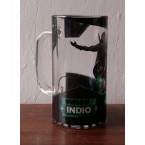 Unión Indio Tarro De Cerveza Indio De Vidrio