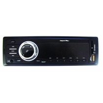 Mp3 Rádio Som P/ Carro Display Azul Usb Am/fm Aux P2 Kv-9602
