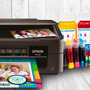 Impresora Epson Xp 211 + Sist Cont+ 4 Tintas De Repuesto Scp