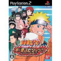 Kit C/12 Jogos Patch Ps2 Playstation2 Naruto Rpg Play 2 Ps 2