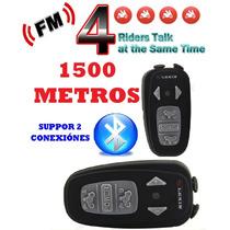 Intercomunicadores Moto 1500m X 2 Igual A Scala Rider