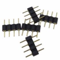 Conector Rgb 4 Pines Macho-macho - Lote 20 Unidades
