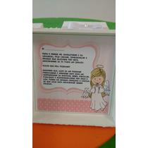 Caixa Convite Para Padrinho E Madrinha De Batismo 10x10