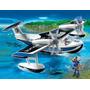 Playmobil 4445 Hidroplano De Policias Rosquillo Toys