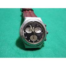 Relogio Swatch Irony Aluminium Chrono -orient-technos-fossil