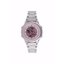 Relógio Casio Feminino Ponteiro E Digital Law-25d-4avdf