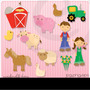 Kit Imprimible Granja Animales 5 Imagenes Clipart