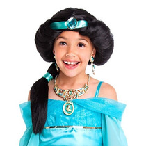 Peruca Jasmine Jasmim Loja Disney Original