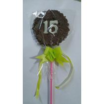 Souvenir 15 Años Chupetines De Chocolate 50 Unidades Oferton